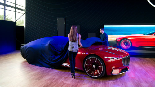 ngam du thuyen mat dat vision mercedes-maybach 6 coupe hinh anh 1