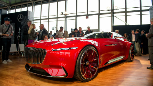 ngam du thuyen mat dat vision mercedes-maybach 6 coupe hinh anh 2