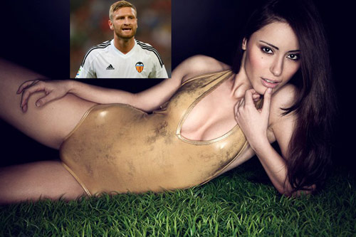 "don ""bom tan"" mustafi, arsenal don them wags nong bong hinh anh 1"