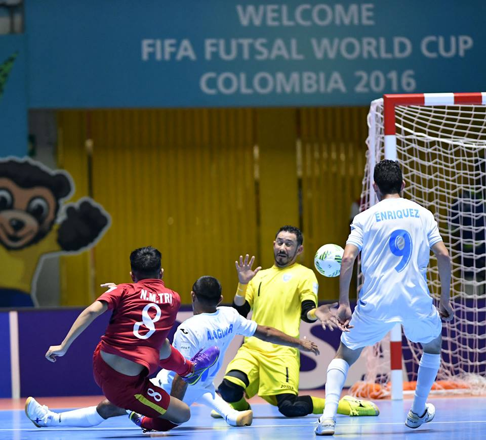 dt futsal viet nam rong cua gianh ve vao vong 1/8 world cup? hinh anh 1