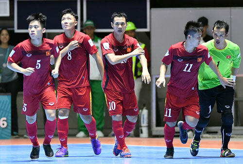 lich truyen hinh truc tiep vong 1/8 futsal world cup 2016 hinh anh 1