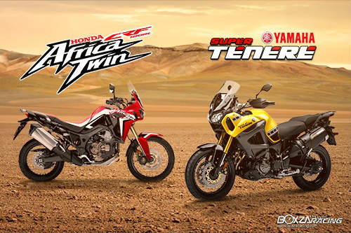 so gang honda crf1000l africa twin va yamaha super tenere hinh anh 1