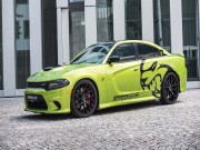 Dodge Charger Hellcat phien ban do, cong suat 782 ma luc