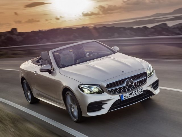 mercedes e-class cabriolet 2018 co gia tu 1,4 ty dong hinh anh 1