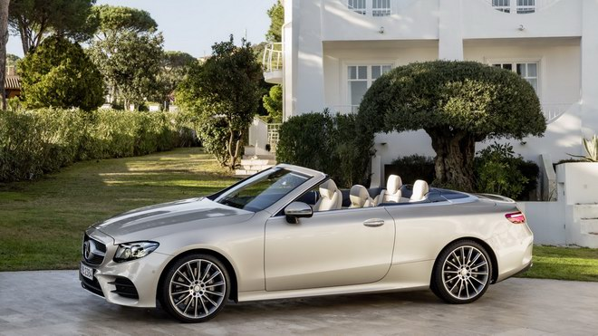 mercedes e-class cabriolet 2018 co gia tu 1,4 ty dong hinh anh 2