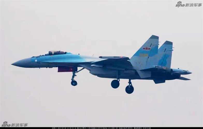 hinh anh moi nhat ve tiem kich su-35 cua trung quoc hinh anh 3