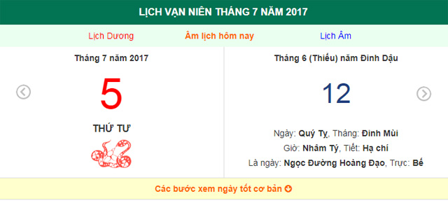 am lich hom nay (12.6, tuc 5.7 duong lich): nhieu viec nen lam trong ngay nay hinh anh 1