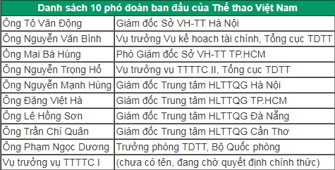 bo truong can thiep, pho doan viet nam du sea games giam manh hinh anh 2