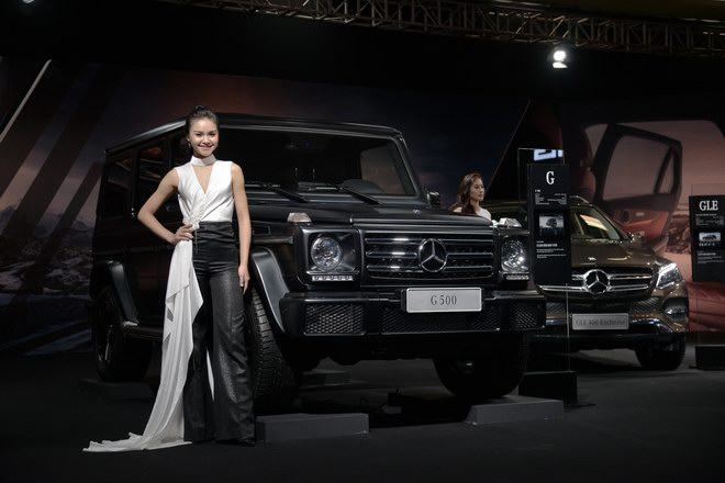 ngam dan my nu tai trien lam mercedes-benz fascination 2017 hinh anh 1