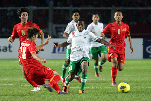 "viet nam va indonesia: duyen no ""ngut troi"" o cac ky aff cup, sea games hinh anh 1"