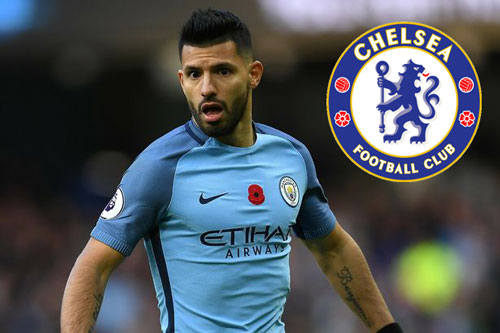 chelsea gay soc voi y dinh tau aguero hinh anh 1