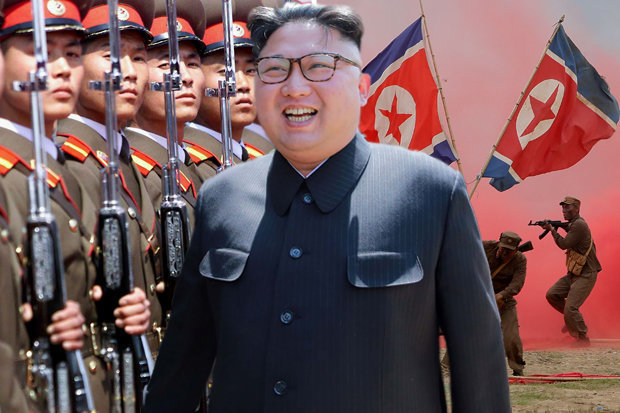 """kim jong-un to my """"bip bom"""" ve nguy co chien tranh hinh anh 1"""