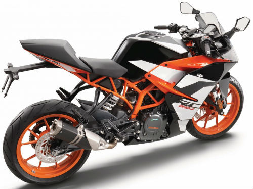 2017 ktm rc390 tiet lo thong so, cong suat 40 ma luc hinh anh 2