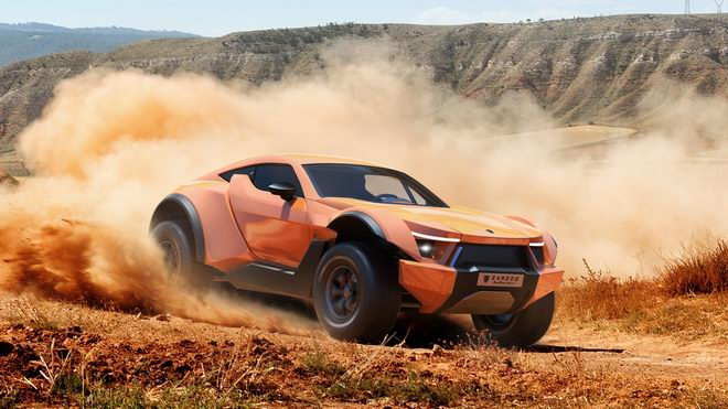 """sandracer 500gt: """"quai thu"""" off-road gia 10 ty dong hinh anh 1"""