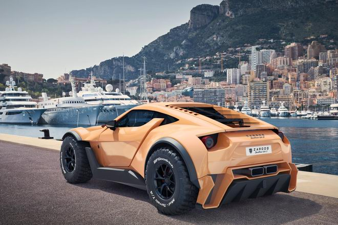 """sandracer 500gt: """"quai thu"""" off-road gia 10 ty dong hinh anh 2"""