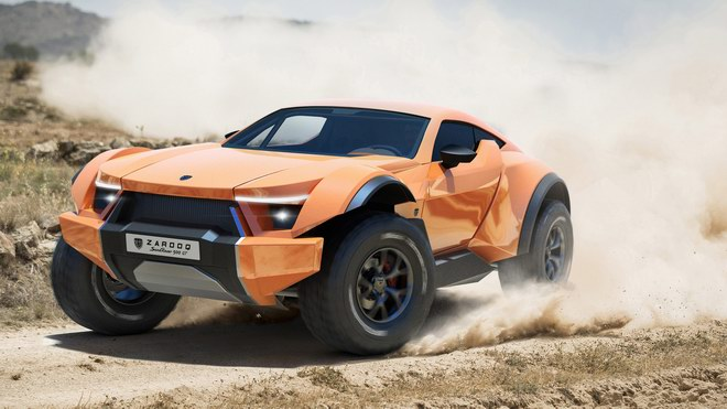 """sandracer 500gt: """"quai thu"""" off-road gia 10 ty dong hinh anh 4"""