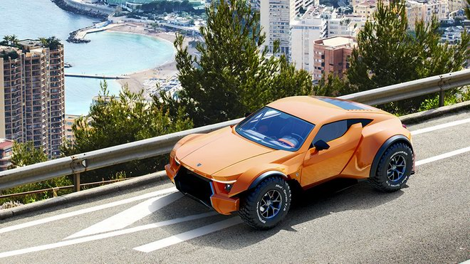 """sandracer 500gt: """"quai thu"""" off-road gia 10 ty dong hinh anh 5"""