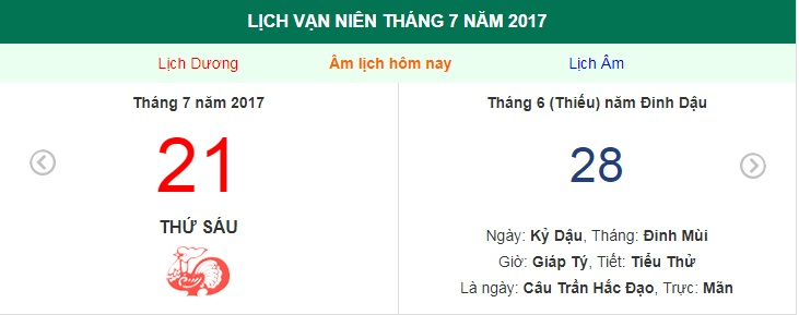 am lich hom nay (28.6, tuc 21.7 duong lich): nen tranh nhung dieu nay hinh anh 1