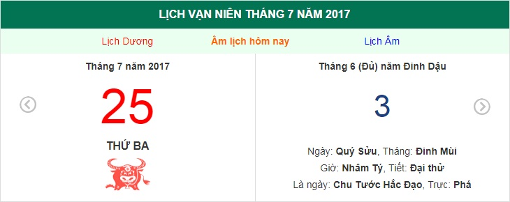 am lich hom nay (3.6, tuc 25.7 duong lich): huong xuat hanh tot nhat hinh anh 1