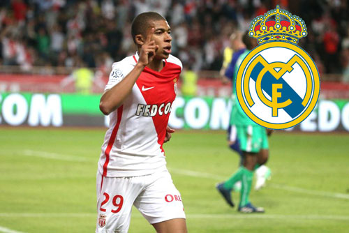 "real an dinh ngay ""cuop"" mbappe khoi monaco hinh anh 1"