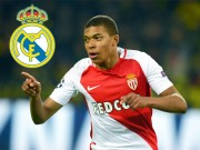 "The thao - Real an dinh ngay ""cuop"" Mbappe khoi Monaco"