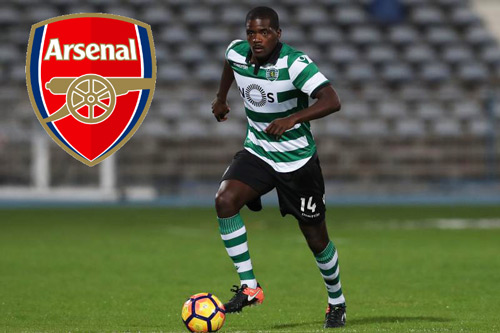 sporting lisbon ban re william carvalho cho arsenal hinh anh 1