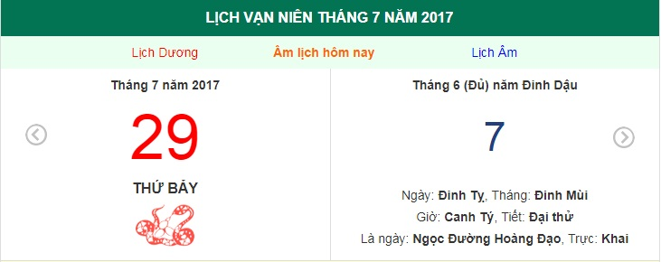 am lich hom nay (7.6, tuc 29.7 duong lich): co nen khai truong? hinh anh 1
