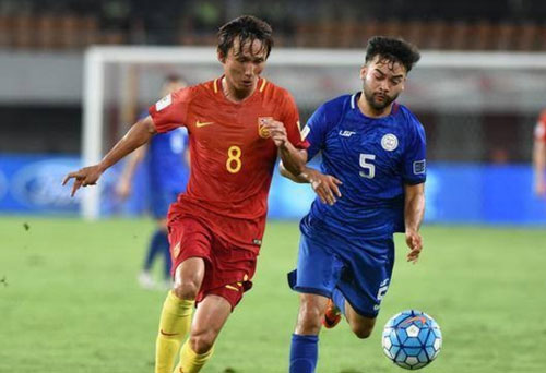 u22 philippines tap trung toan luc cho sea games 29 hinh anh 1