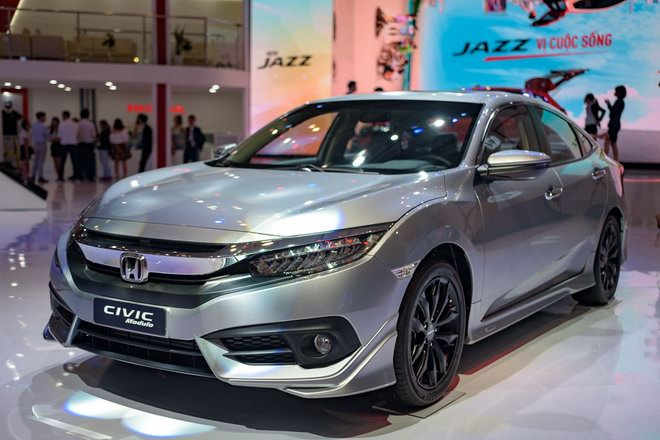 honda civic modulo them manh me voi bodykit the thao hinh anh 1