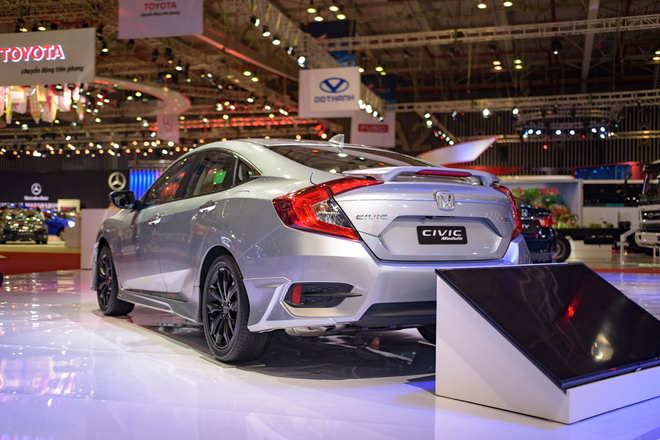 honda civic modulo them manh me voi bodykit the thao hinh anh 4