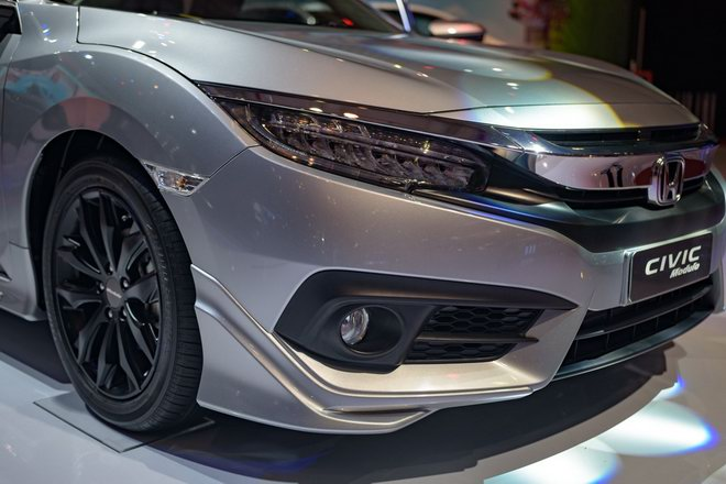 honda civic modulo them manh me voi bodykit the thao hinh anh 7