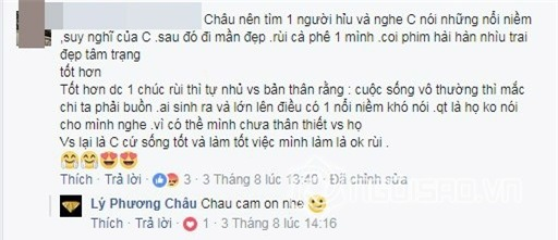 "linh chi lai ""triet ly"" ve cuoc song nham vao vo cu lam vinh hai? hinh anh 5"