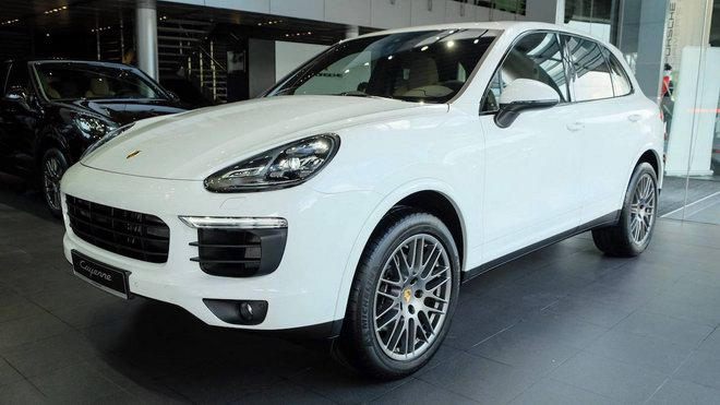 porsche cayenne platinum edition gia 5,3 ty dong tai viet nam hinh anh 1