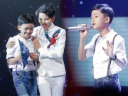 Tan chay voi giong ca 11 tuoi hat dan ca tai The Voice Kids