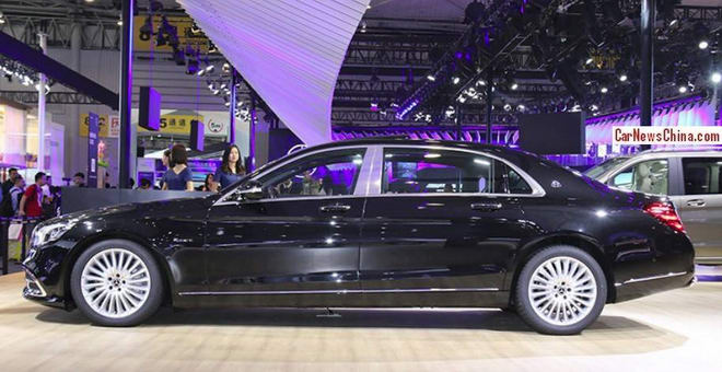 mercedes-maybach s450 gia 5,1 ty dong thay the maybach s400 hinh anh 2