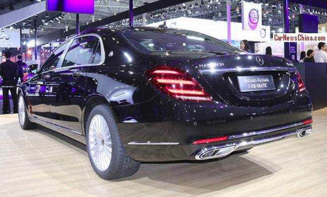 mercedes-maybach s450 gia 5,1 ty dong thay the maybach s400 hinh anh 3