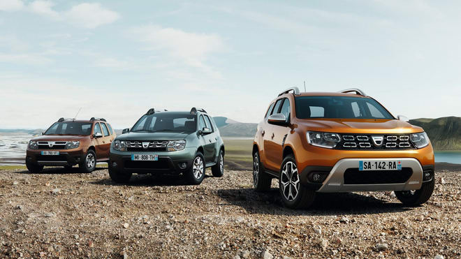 suv co nho renault duster 2018 the he moi xuat hien hinh anh 1