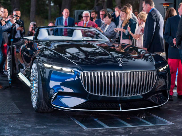 vision mercedes-maybach 6 cabriolet: tuyet pham tham vong hinh anh 1