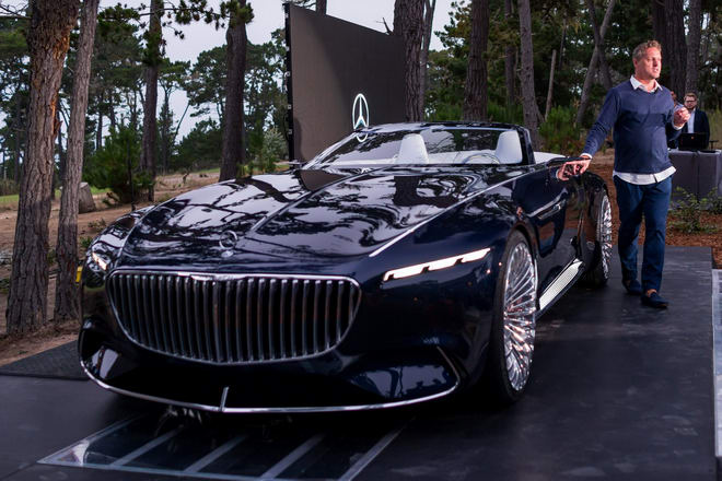 vision mercedes-maybach 6 cabriolet: tuyet pham tham vong hinh anh 2