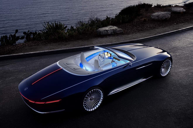 vision mercedes-maybach 6 cabriolet: tuyet pham tham vong hinh anh 6