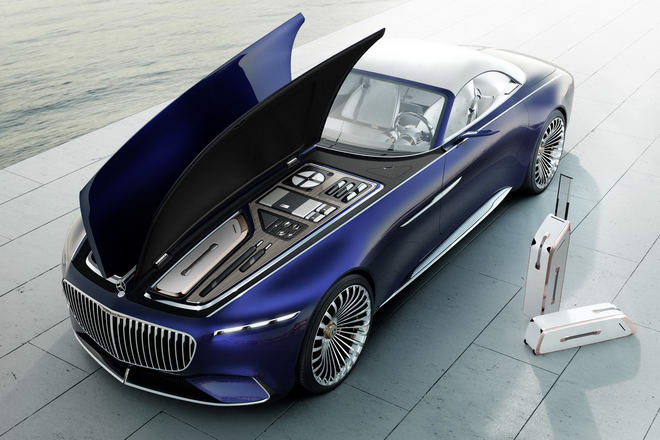 vision mercedes-maybach 6 cabriolet: tuyet pham tham vong hinh anh 8