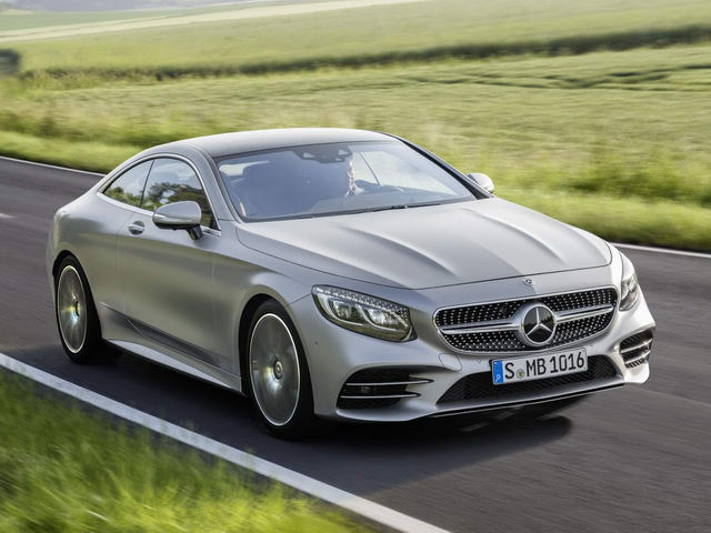 mercedes-benz s-class coupe 2018 lo dien hinh anh 1