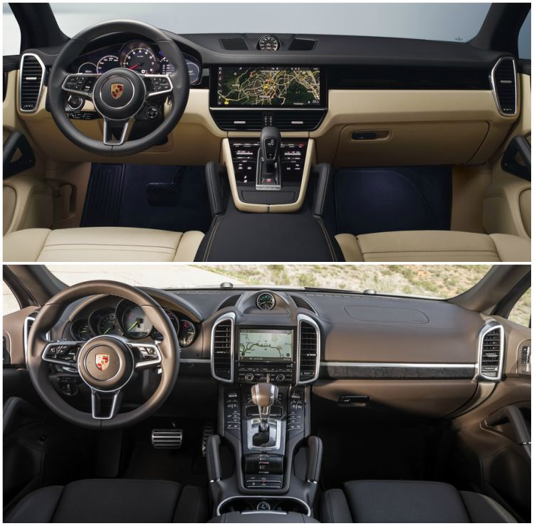porsche cayenne 2018 khac gi the he 2 truoc day? hinh anh 2