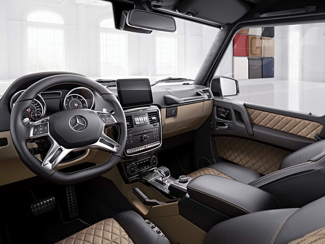 tu biet mercedes g-class voi g63 va g65 exclusive edition hinh anh 2