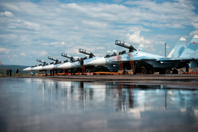 11 hinh anh an tuong ve chien dau co su-30sm moi nhat cua nga hinh anh 11