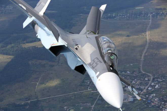 11 hinh anh an tuong ve chien dau co su-30sm moi nhat cua nga hinh anh 8