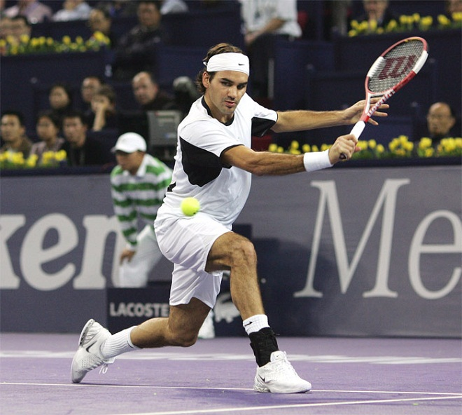 "vi sao ""tau toc hanh"" roger federer nhanh nhu cat, khoe vo dich hinh anh 7"