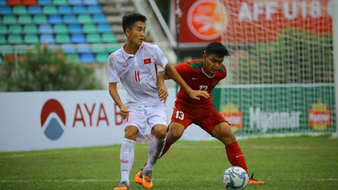 "tien ve le xuan tu: ""u18 viet nam chi co the tu trach chinh minh"" hinh anh 1"