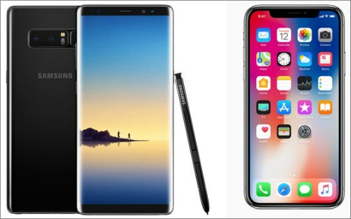iphone x so gang cung galaxy note 8: ai ngon hon? hinh anh 3