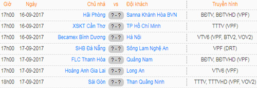 lich phat song vong 18 v.league hinh anh 1